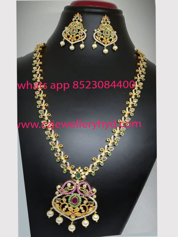 CZ Long Necklace sets