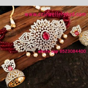 CZ Chokers Set 092200