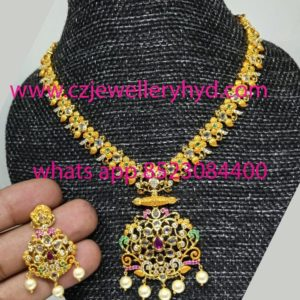 cz necklace sets online