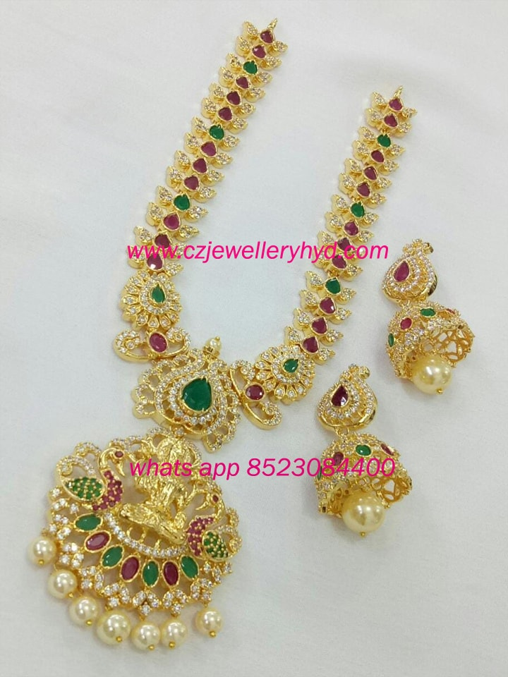 Exclusive laxmi set with jumki code:-0619235N