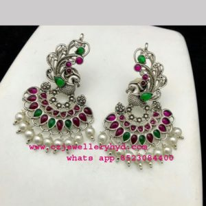 oxidised earrings online code: 0419258N