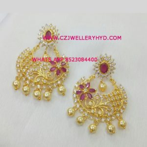 cz earrings wholesale buy now set code: 0619266N