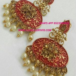 Exclusive Meena Earrings Traditional design Buy online