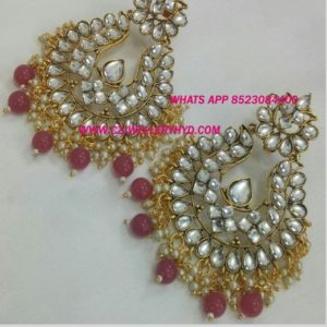 Exclusive Exclusive kundan earrings buyonline
