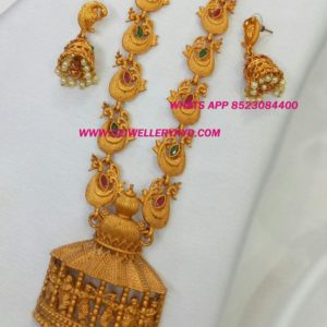 Matte Long Necklace set buy online code: 0419313N