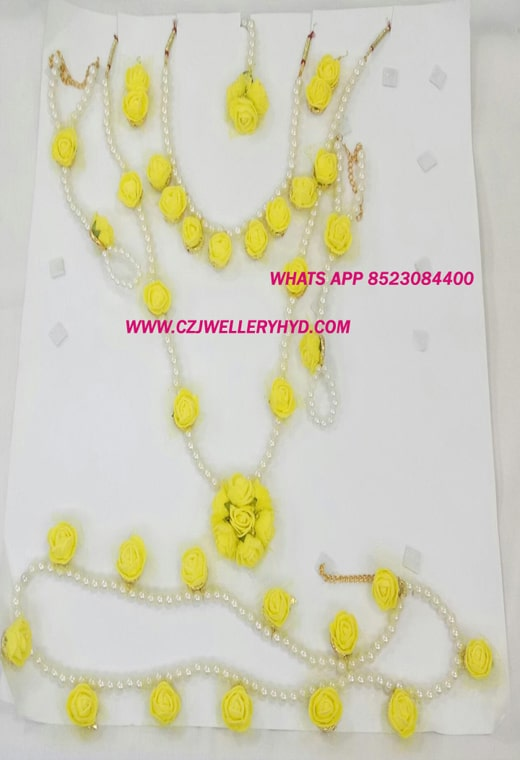 flower jewellery buy online-0619301N