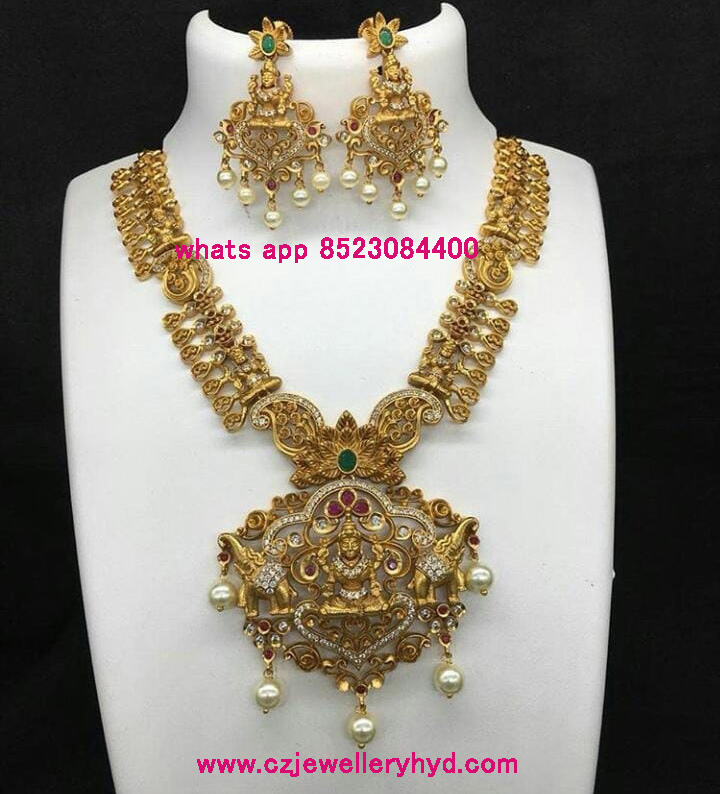 Onegram Gold Necklace set Code-111902