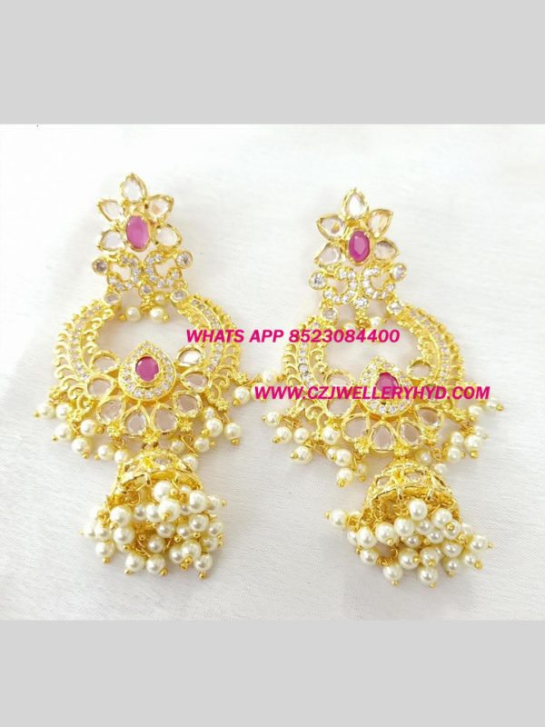 Premium Quality CZ Earrings a0103