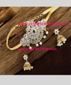 CZ Chain with one gram pendant Code 38N342