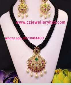 black thread necklace online shopping 31N165