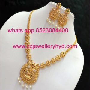 16N95 Premium Quality short necklace set