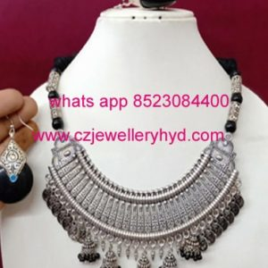 20ND47 Premium quality Oxidized Fashion Necklace Set