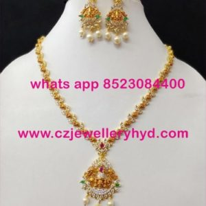 39NDV90 Premium Quality Necklace Set