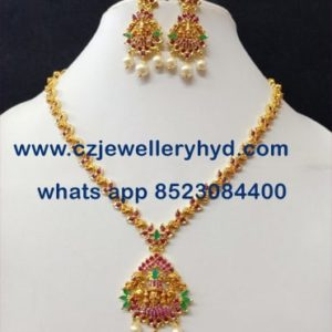 56NDV90 Premium Quality Short Necklace Set