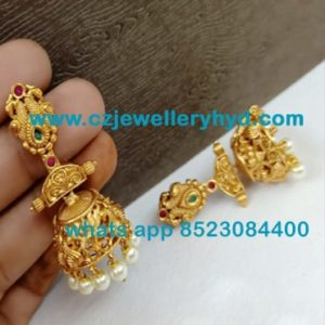 58NDV62 Premium Quality Matte Earrings